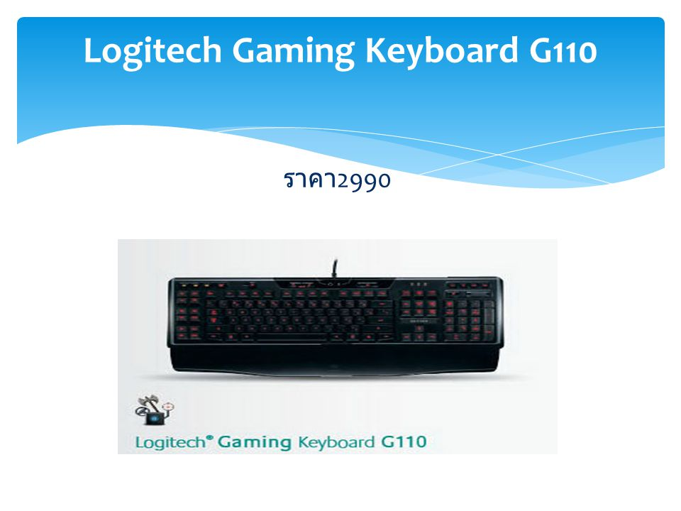 Logitech Gaming Keyboard G110