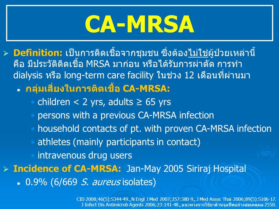 CA-MRSA