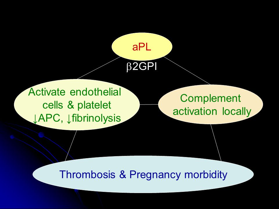 Thrombosis & Pregnancy morbidity