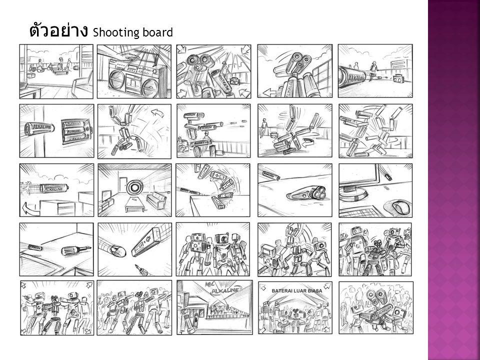ตัวอย่าง Shooting board