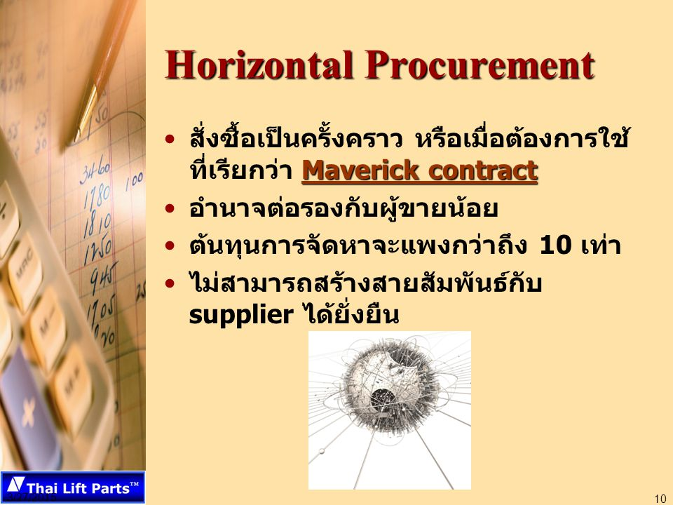 Horizontal Procurement