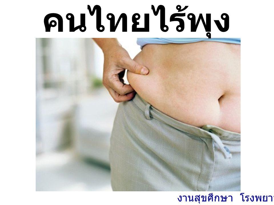 คนไทยไร้พุง งานสุขศึกษา โรงพยาบาลพะเยา