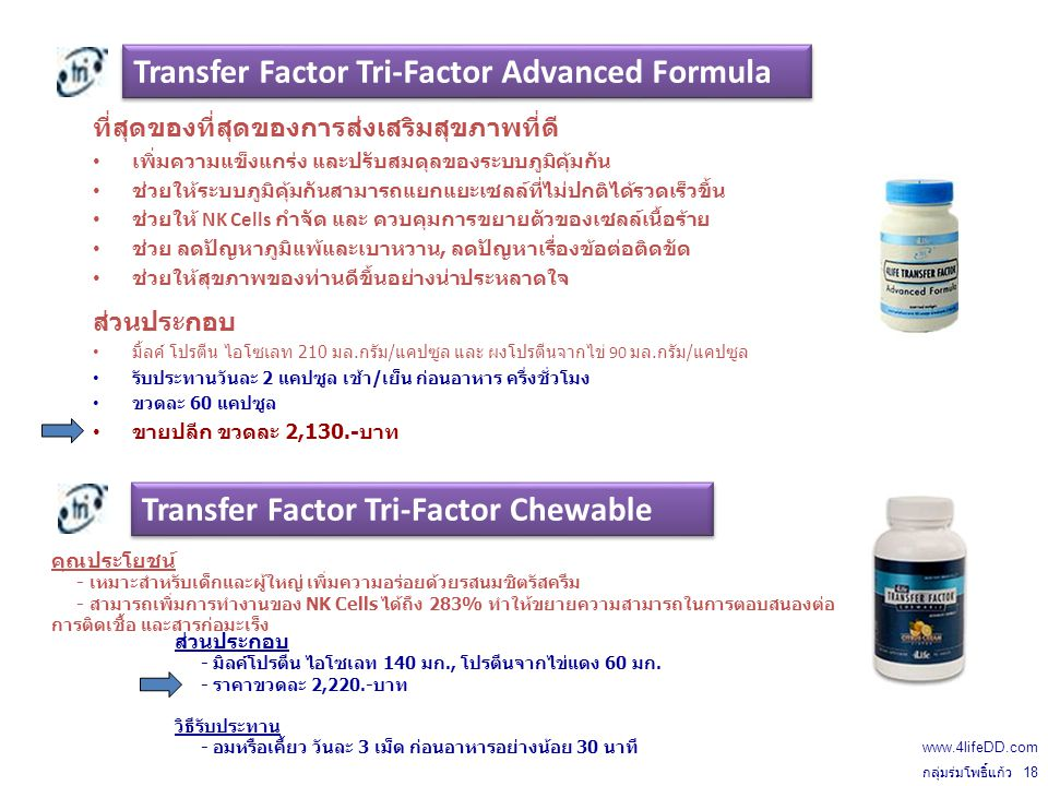 Transfer Factor Tri-Factor Advanced Formula