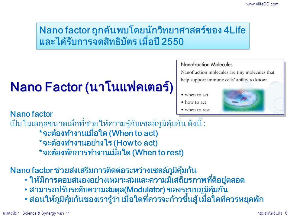 Nano Factor (นาโนแฟคเตอร์)