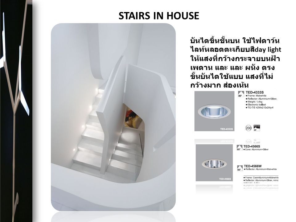 STAIRS IN HOUSE