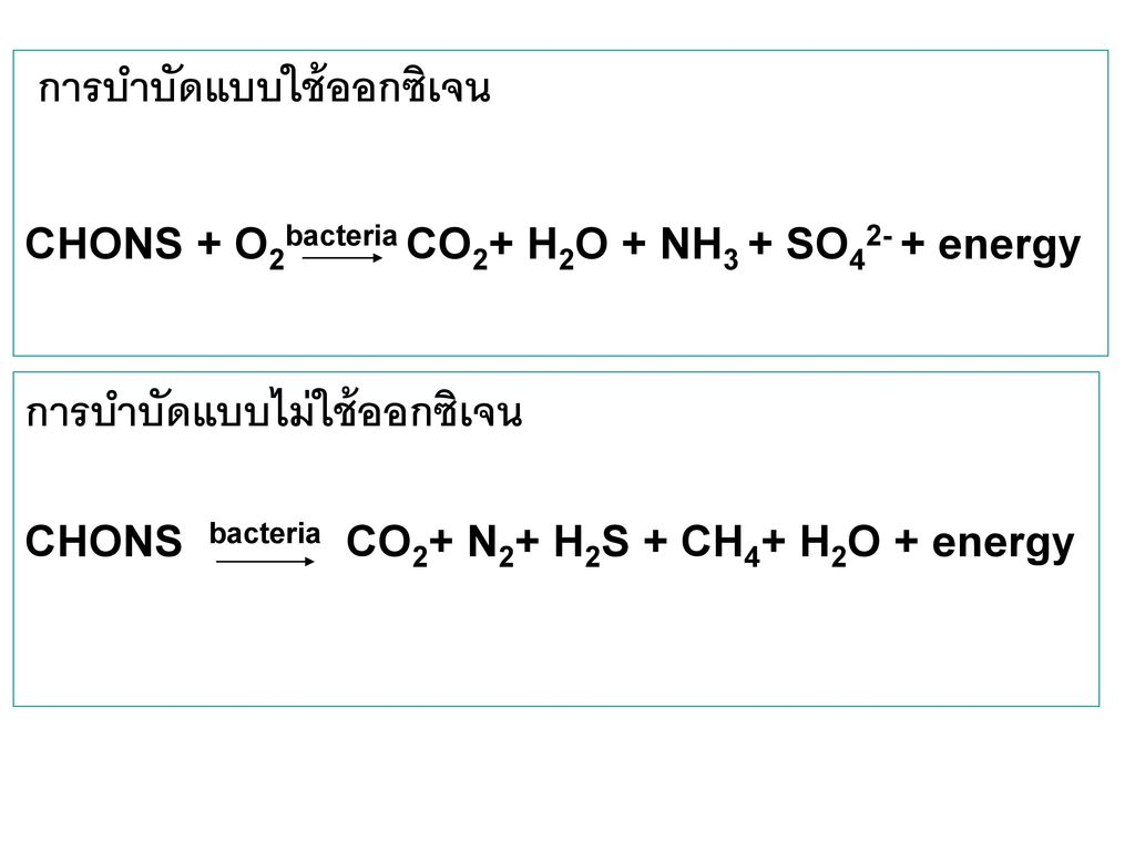 การบำบัดแบบไม่ใช้ออกซิเจน