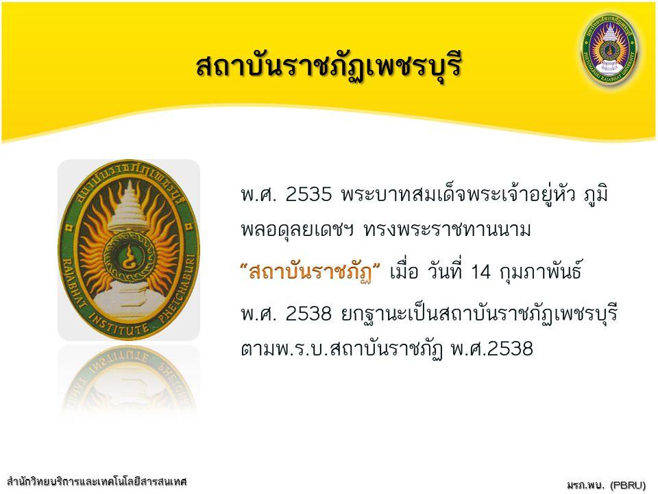 สถาบันราชภัฏเพชรบุรี