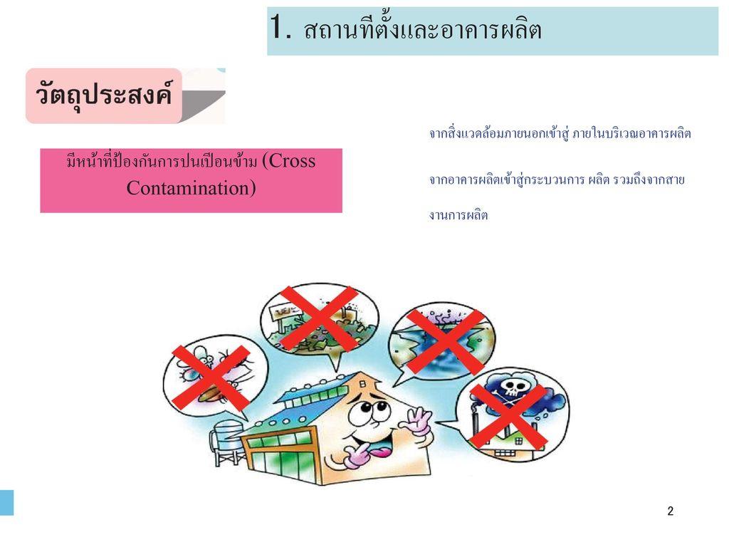 มีหน้าที่ป้องกันการปนเปีอนข้าม (Cross Contamination)