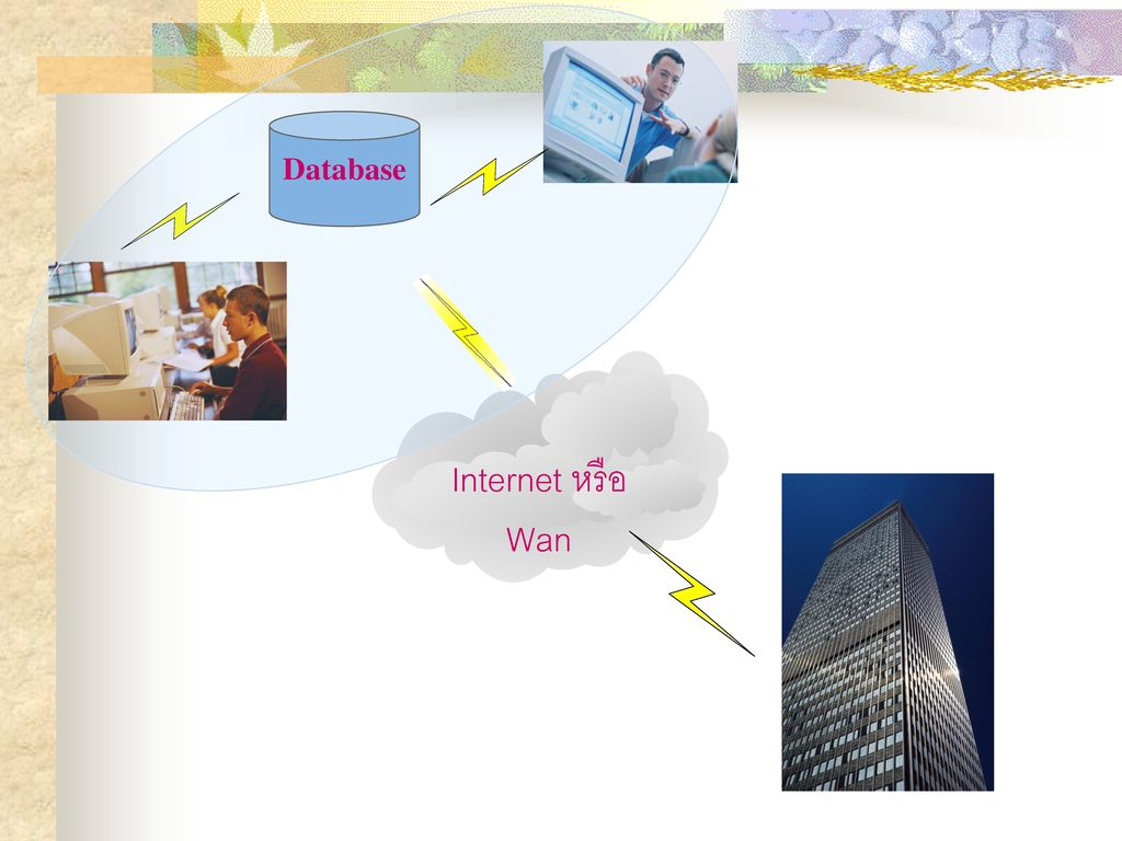 Database Internet หรือ Wan