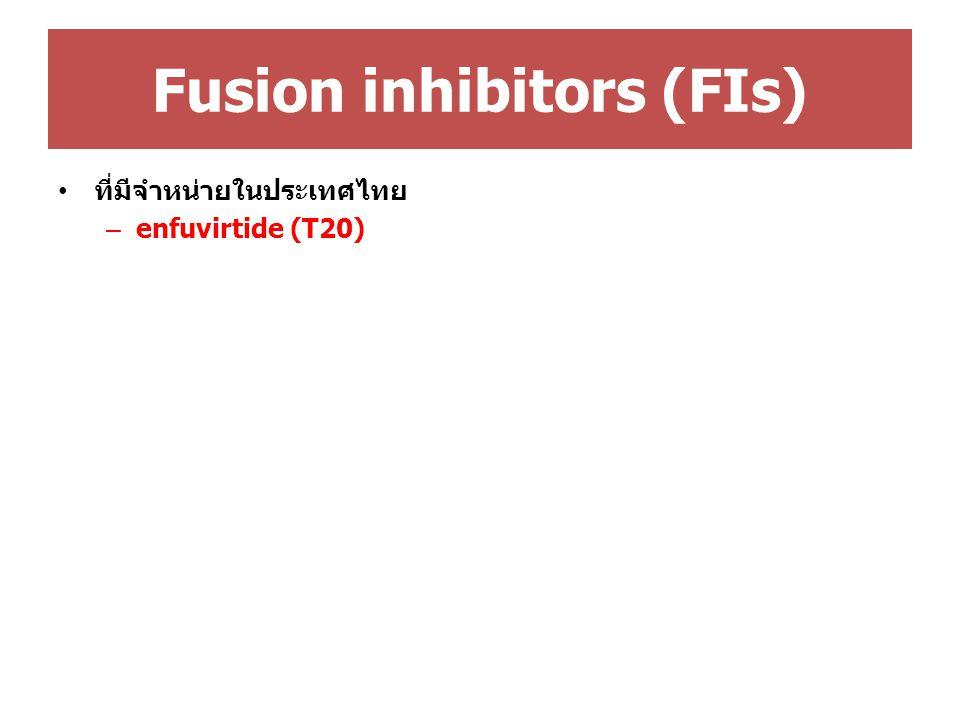 Fusion inhibitors (FIs)