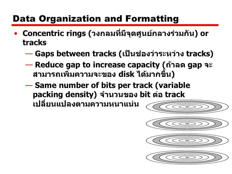 Data Organization and Formatting