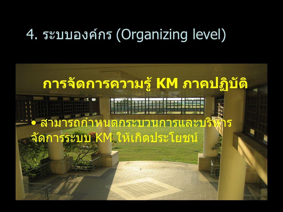 การจัดการความรู้ KM ภาคปฏิบัติ