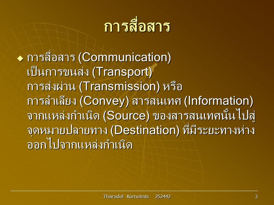 การสื่อสาร