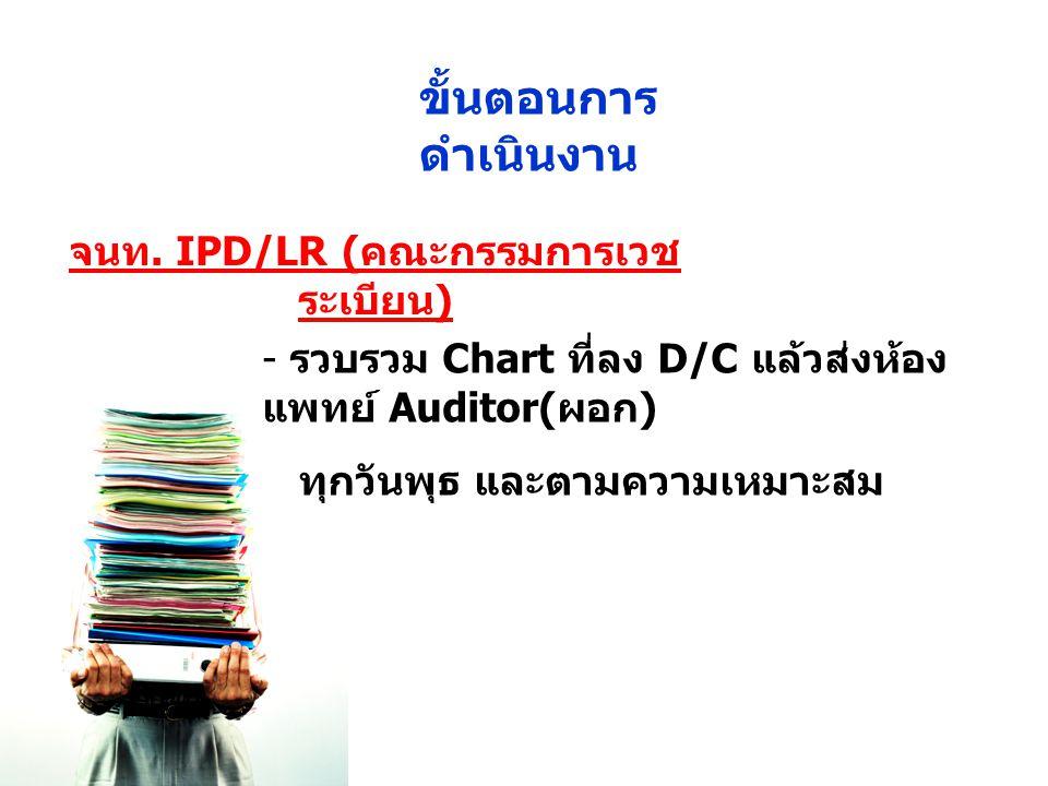 จนท. IPD/LR (คณะกรรมการเวชระเบียน)