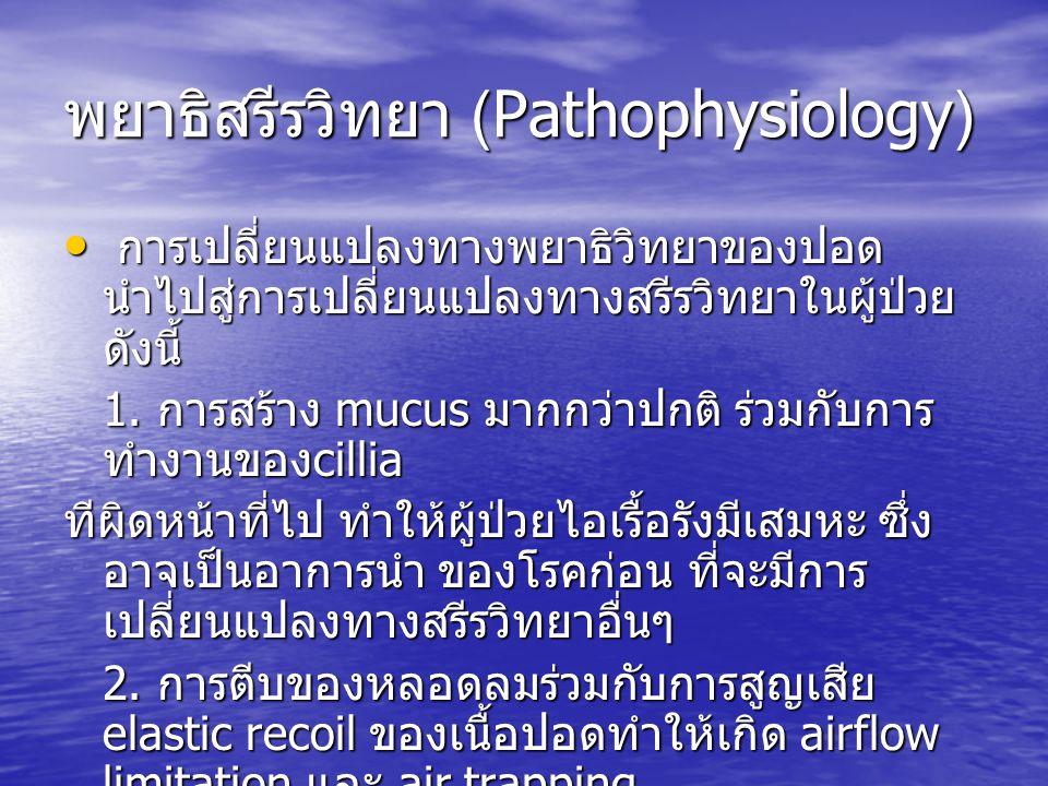 พยาธิสรีรวิทยา (Pathophysiology)