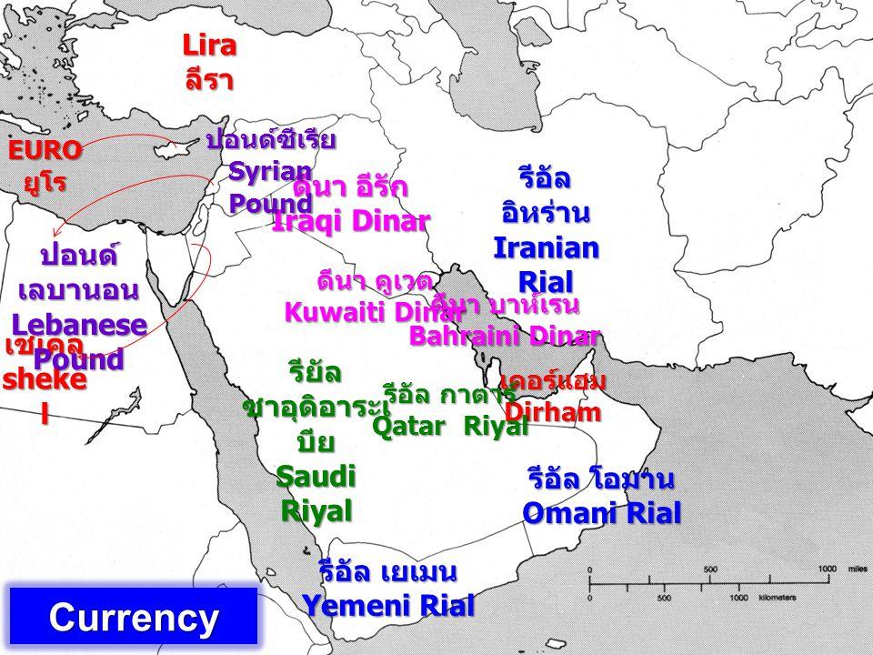 Currency Lira ลีรา รีอัล อิหร่าน Iranian Rial ดีนา อีรัก Iraqi Dinar