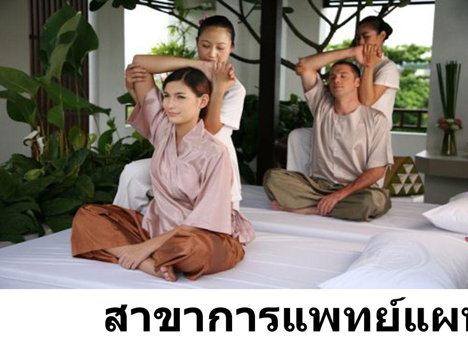 สาขาการแพทย์แผนไทย