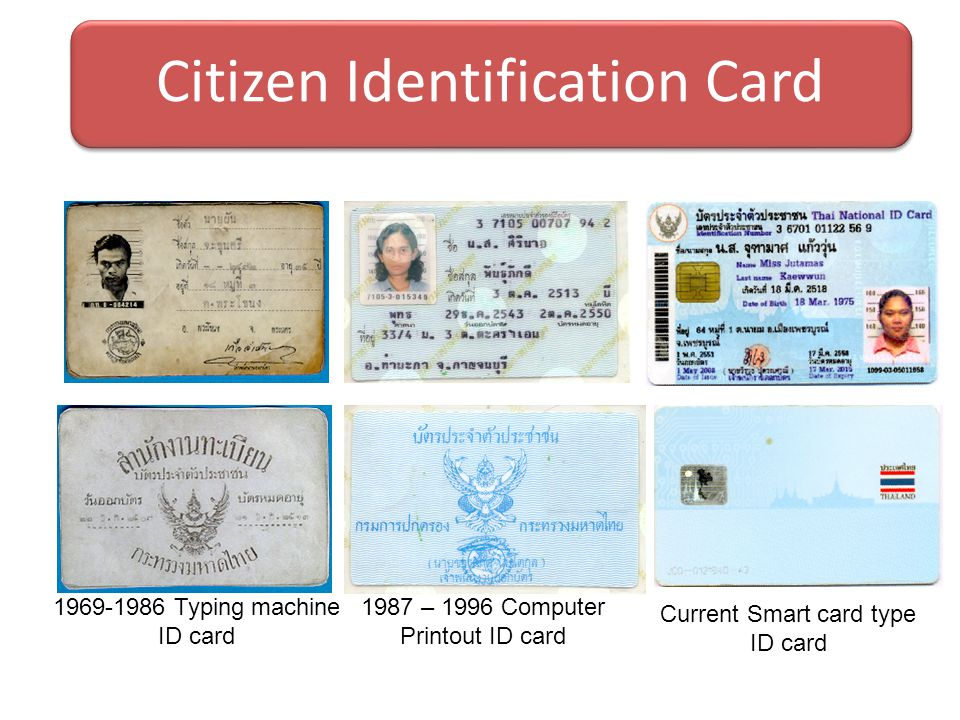Citizen Identification Card