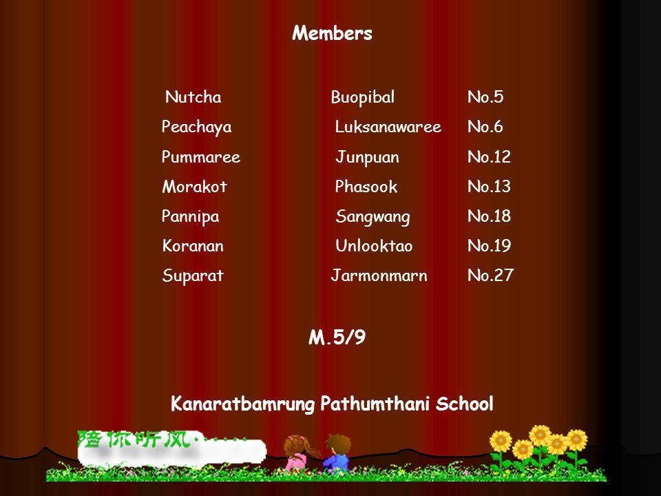 Kanaratbamrung Pathumthani School