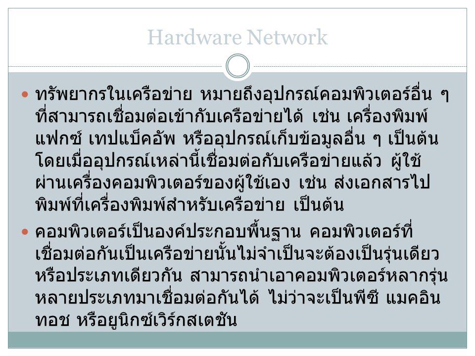 Hardware Network