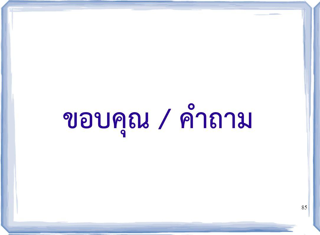 08/04/60 ขอบคุณ / คำถาม
