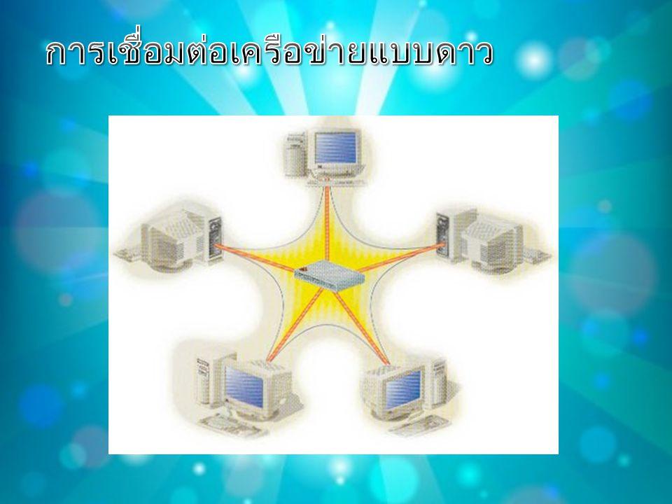 การเชื่อมต่อเครือข่ายแบบดาว