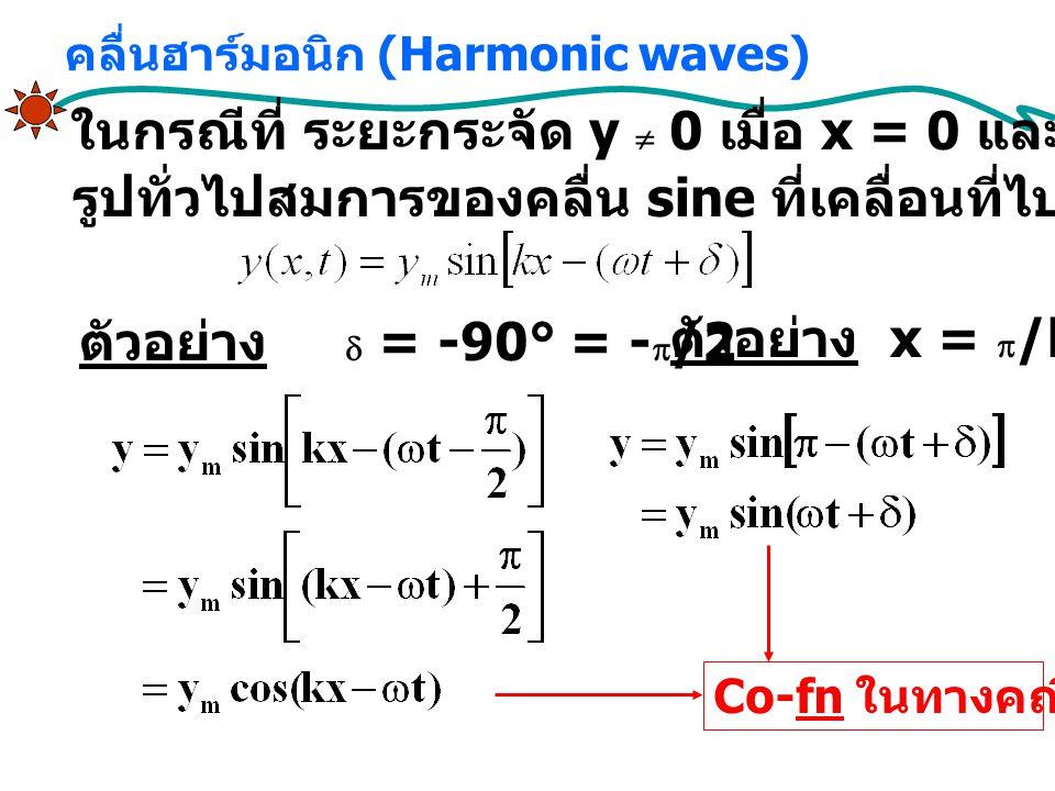 คลื่นฮาร์มอนิก (Harmonic waves)