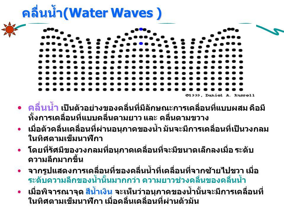 คลื่นน้ำ(Water Waves )