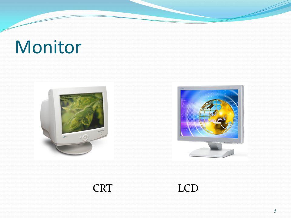 Monitor CRT LCD