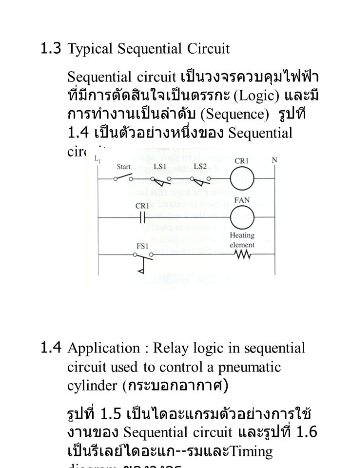1.3 Typical Sequential Circuit
