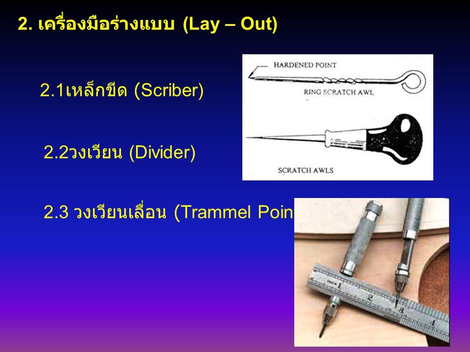 2. เครื่องมือร่างแบบ (Lay – Out)