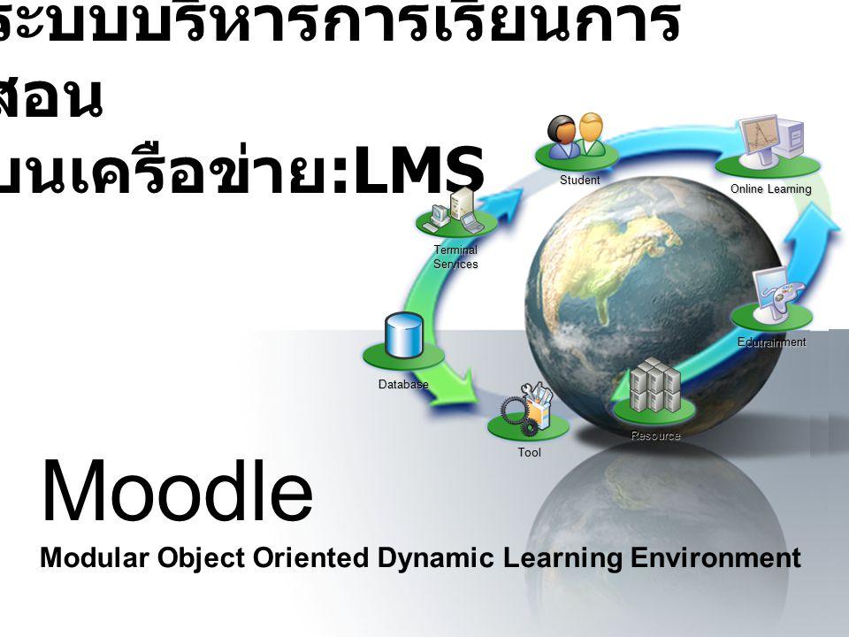 ระบบบริหารการเรียนการสอน บนเครือข่าย:LMS