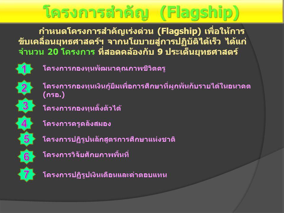 โครงการสำคัญ (Flagship)