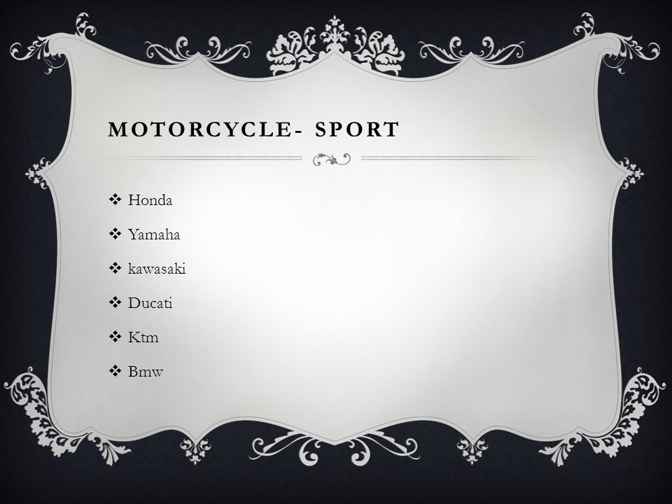 Motorcycle- Sport Honda Yamaha kawasaki Ducati Ktm Bmw