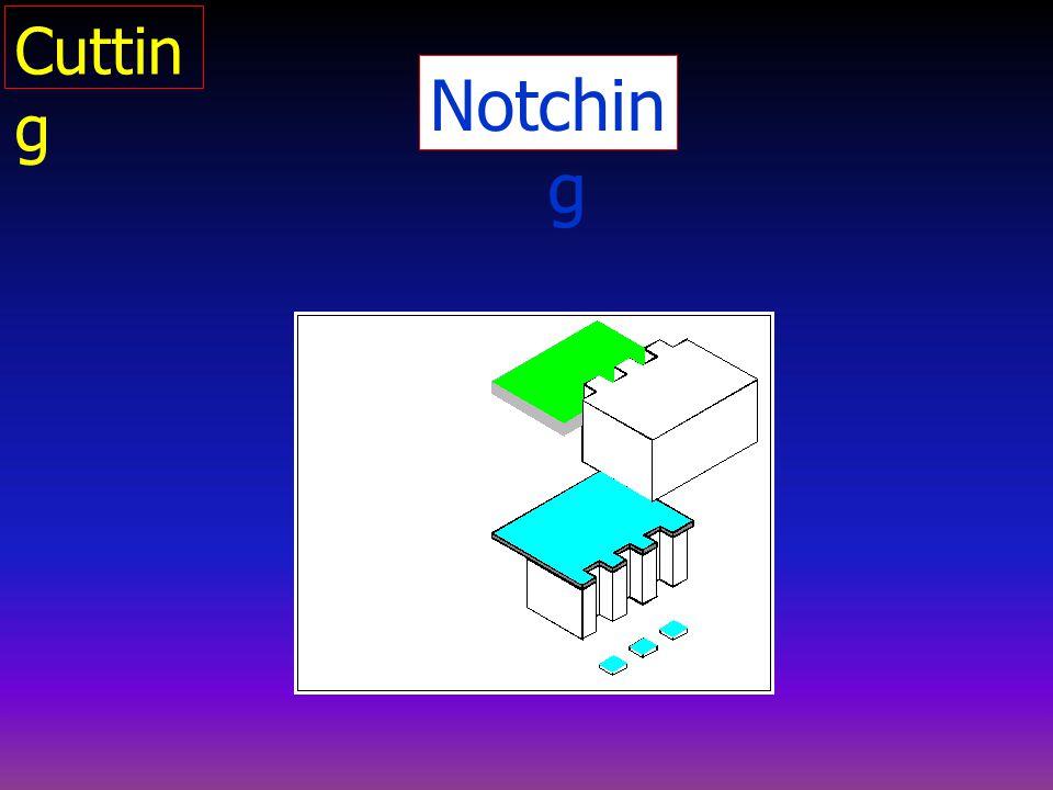 Cutting Notching