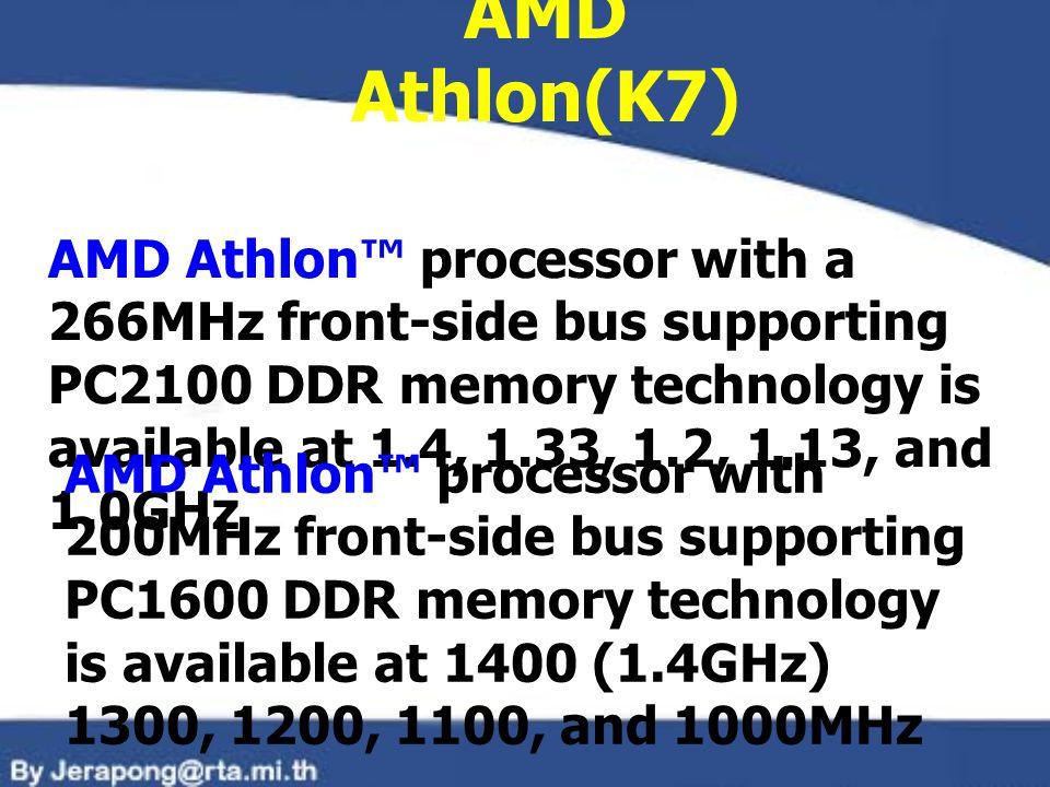 AMD Athlon(K7)