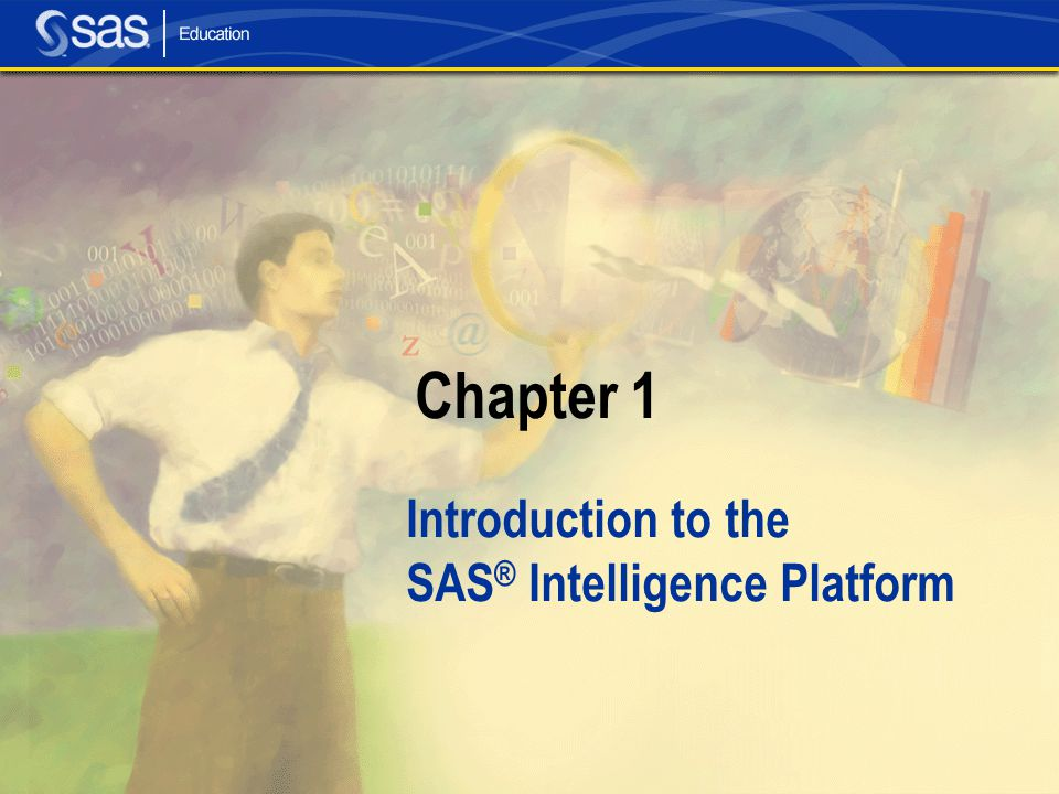 Introduction to the SAS® Intelligence Platform