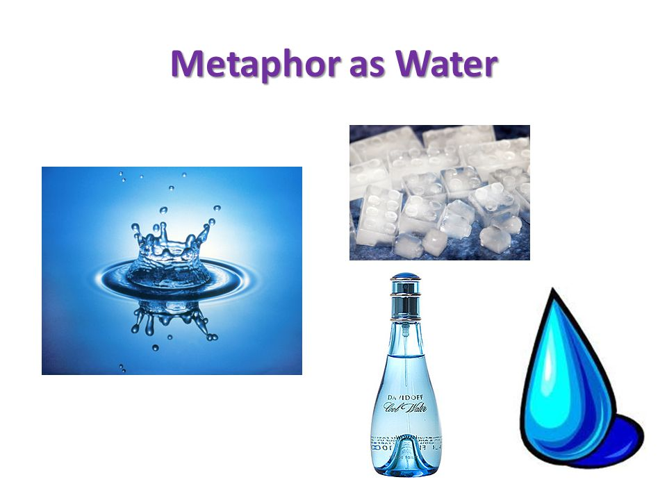 Metaphor as Water