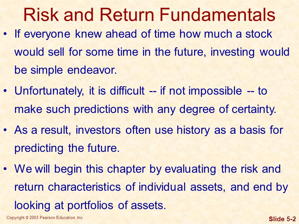 Risk Defined In the context of business and finance, risk is defined as the chance of suffering a financial loss.