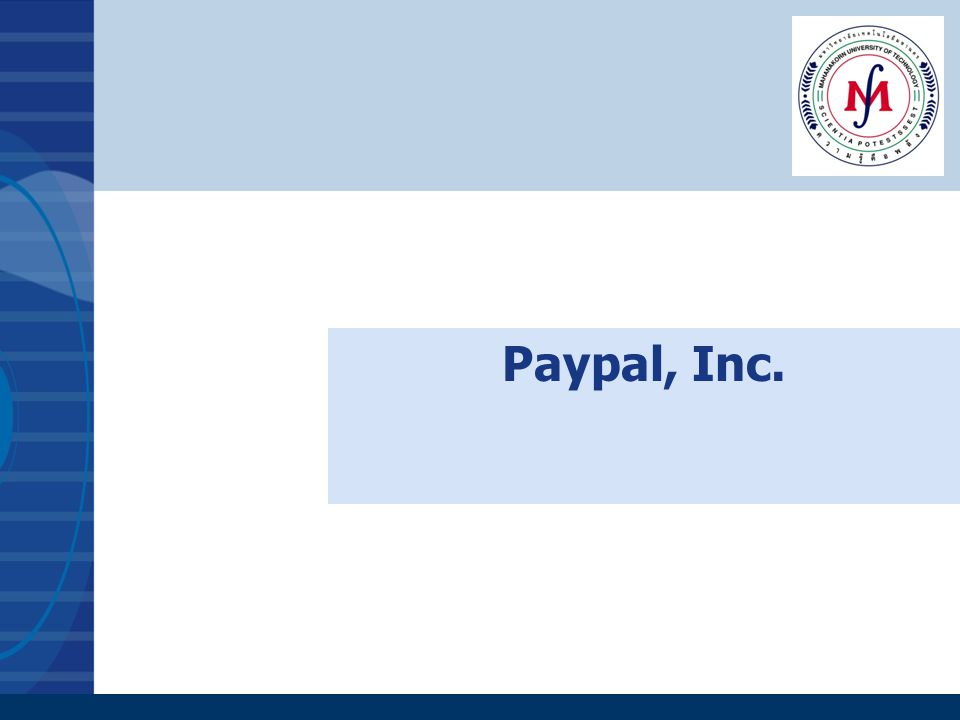 Paypal, Inc.