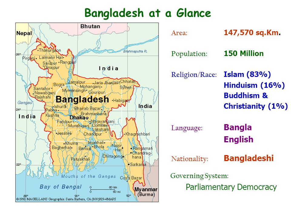 Bangladesh at a Glance English Parliamentary Democracy