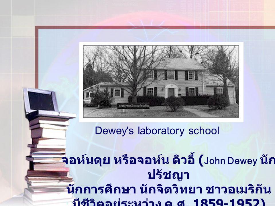 จอห์นดุย หรือจอห์น ดิวอี้ (John Dewey นักปรัชญา