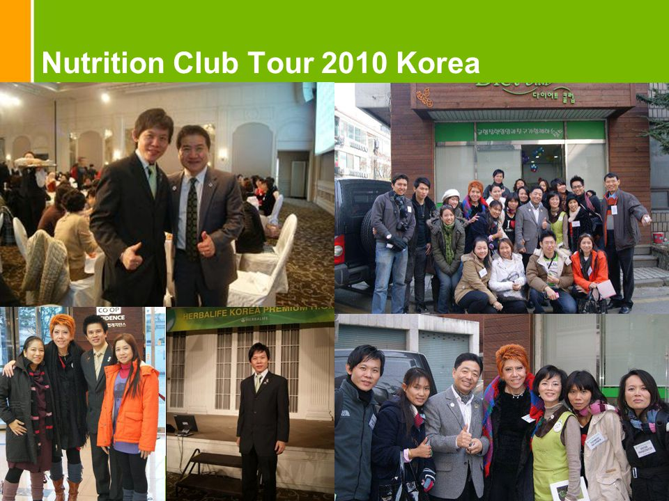 Nutrition Club Tour 2010 Korea