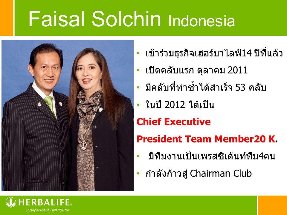 Faisal Solchin Indonesia