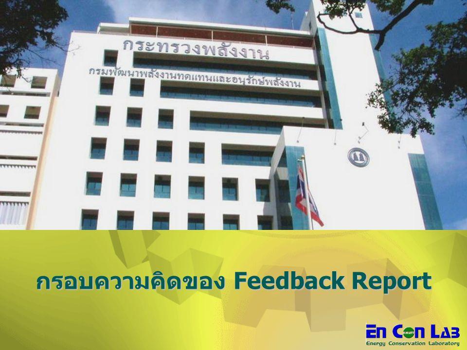 กรอบความคิดของ Feedback Report