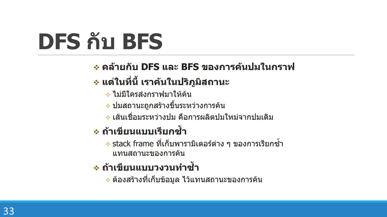 DFS กับ BFS