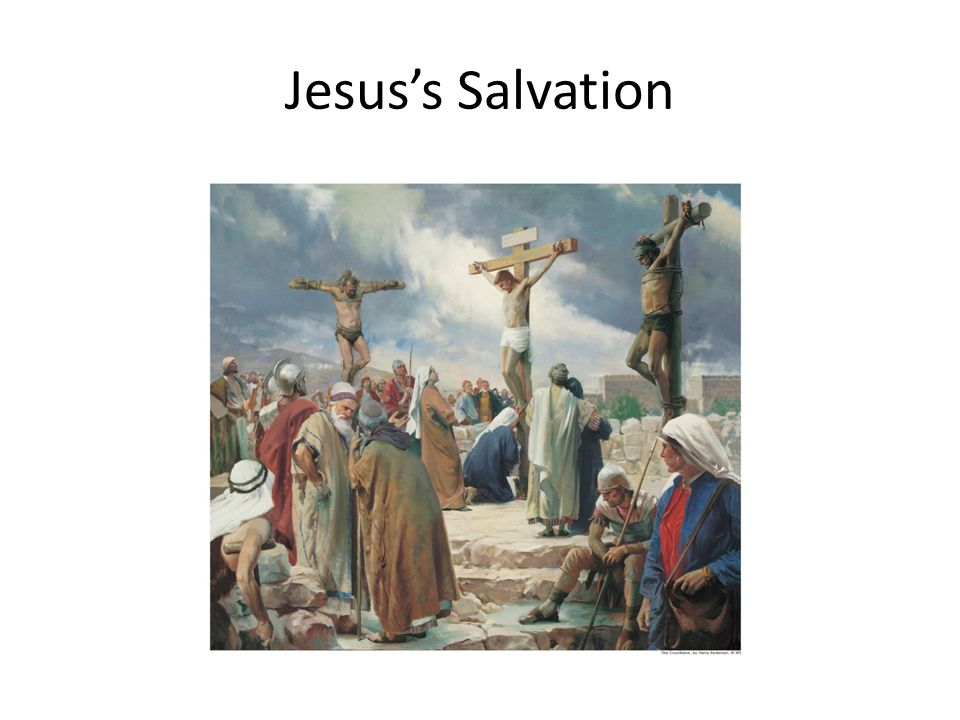 Jesus's Salvation