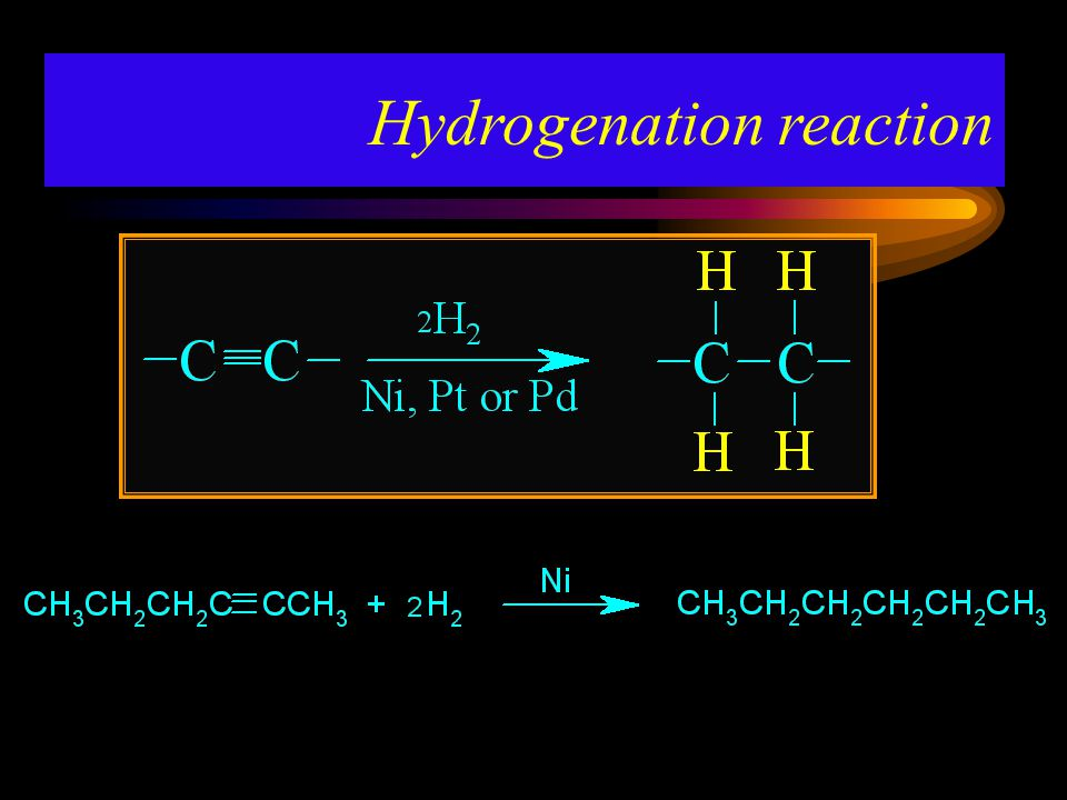 Hydrogenation reaction
