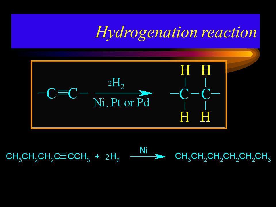 Hydrogenation reaction