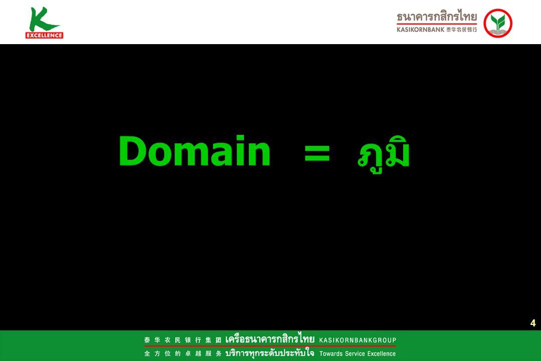 Domain = ภูมิ